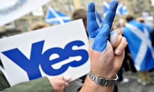 Yes campaigner in Scotland debate