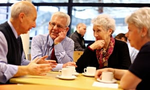 A chance to chat is all most people in retirement need to stay happy and healthy.