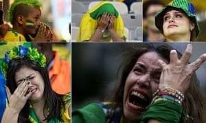 Weeping Brazilian fans