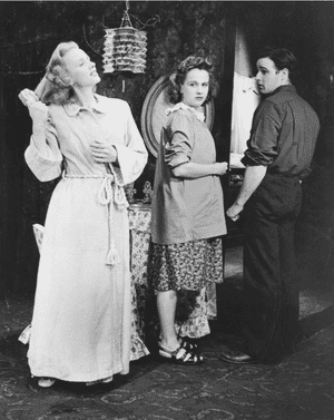 Scene from the original Broadway production of A Streetcar Named Desire