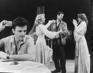 Aidan Quinn, Blythe Danner, Frank Converse and Frances McDormand in A Streetcar Named Desire