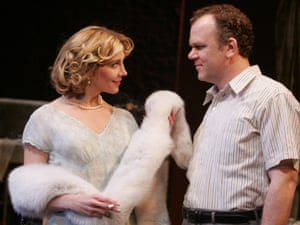Natasha Richardson as Blanche and John C Reilly as Stanley