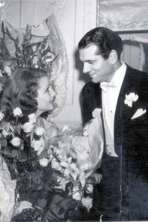 Laurence Olivier with his wife Vivien Leigh