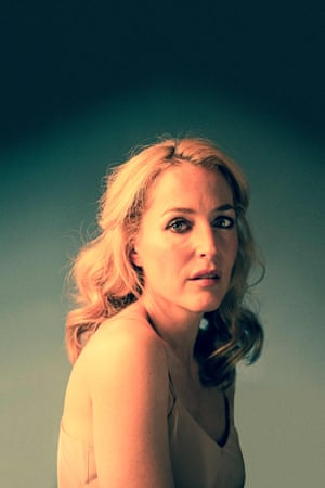 Gillian Anderson as Blanche in A Streetcar Named Desire
