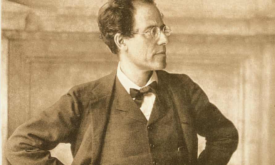 Gustav Mahler portrayed by Moritz Nahr in foyer of Vienna Court Opera, 1907.