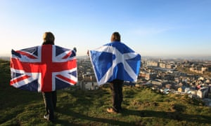 Flags over Edinburgh.