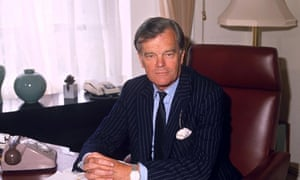 Alan Clark when he was a government minister.