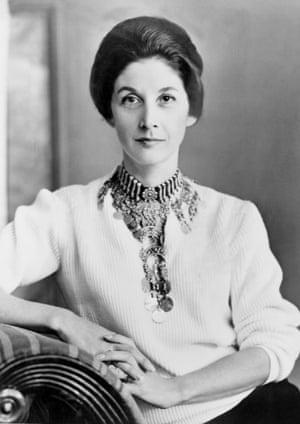 Nadine Gordimer, pictured in October 1961.