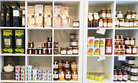 Delicatessen shelf