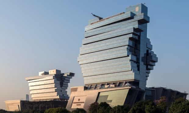 The Nanfung complex in Guangzhou