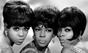 The Supremes: Florence Ballard, Mary Wilson and Diana Ross.