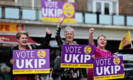 Ukip – local council and European elections