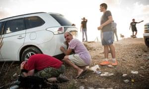 israel gaza rocket siren