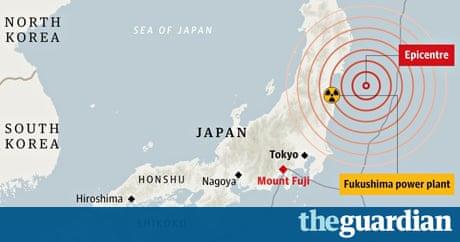 Japan Earthquake Has Raised Pressure Below Mount Fuji Says New - Japan map mount fuji