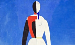 Malevich's Woman with Rake, 1930-32