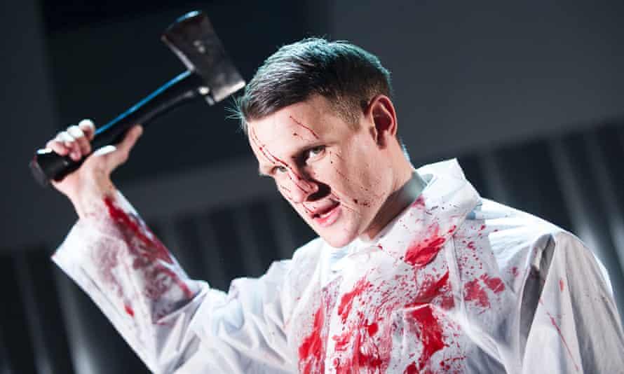 Matt Smith as Patrick Bateman in the UK adaptation of American Psycho.