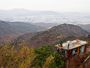 23 Seoul National University (Gwanaksan) – Korea's capital is laced through with mountains, which are dotted with the occasional military post, a consequence of being only 55km from the demilitarised zone with North Korea. The peaks also serve as escape hatches for harried workers.