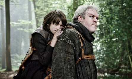 Isaac Hempstead-Wright, Kristian Nairn, 'The North Remembers'