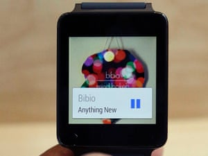 Android Wear on an LG G Watch