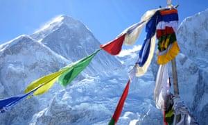 Everest base camp trek: Mount Everest from Kala Patthar