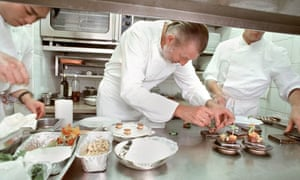 Chefs at work in a French restaurant … what's causing the culinary crisis?