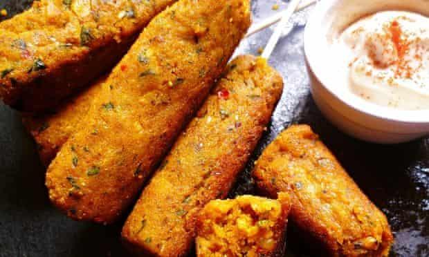 Leftover carrot recipe - Spicy carrot kofte
