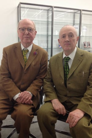 Gilbert and George at the White Cube