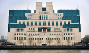 The Secret Intelligence Service building in Vauxhall, London.