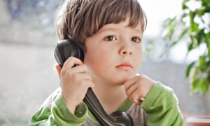 Boy telephone