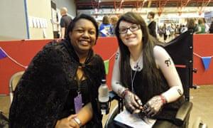 Malorie Blackman and Megan