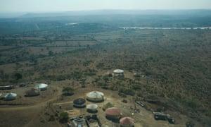 Kwambonambi Village in rural KwaZulu Natal where Ibutho Coal wants to dig a new high-grade coal mine.