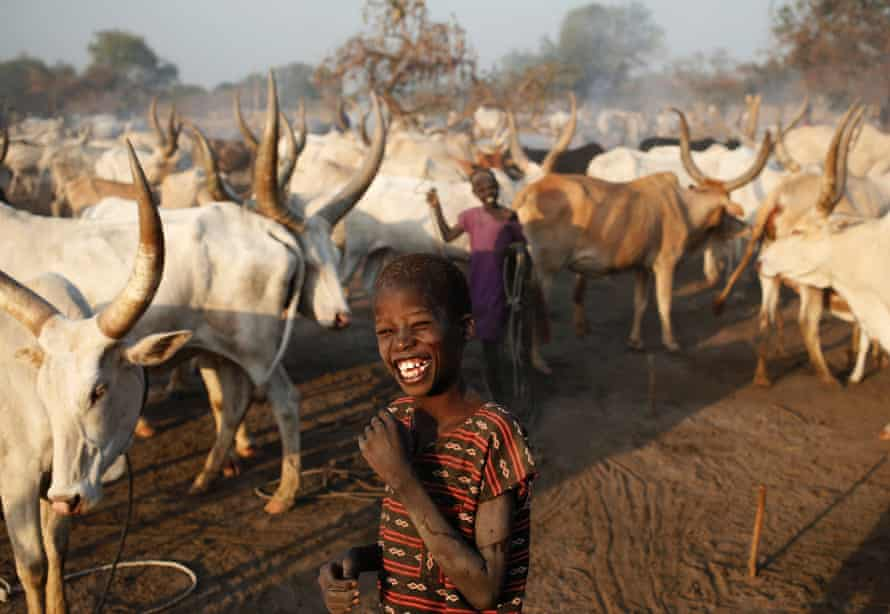 A Dinka boy in South Sudan - not one of the images for sale online.