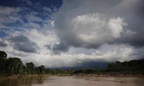 The Envira river in north-west Brazil
