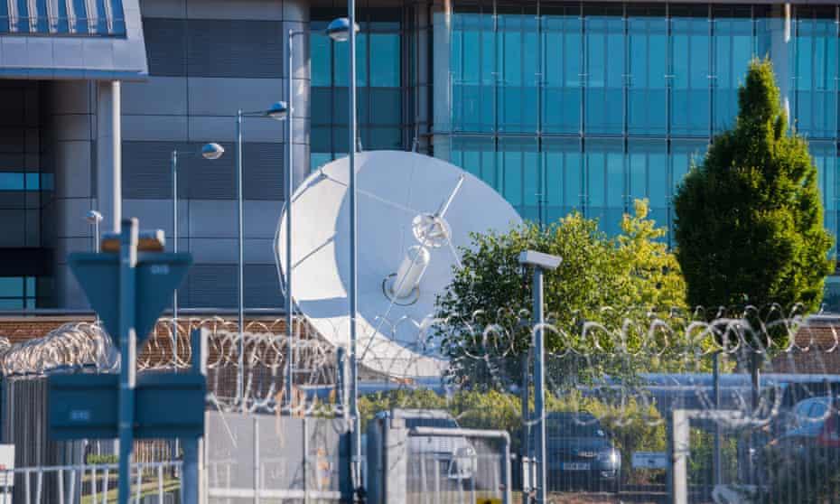 Satellites at GCHQ
