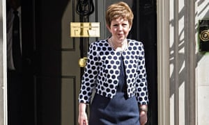 The Reshuffled British Cabinet On Downing Street
