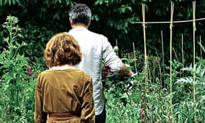alys fowler & yotam ottolenghi on her allotment