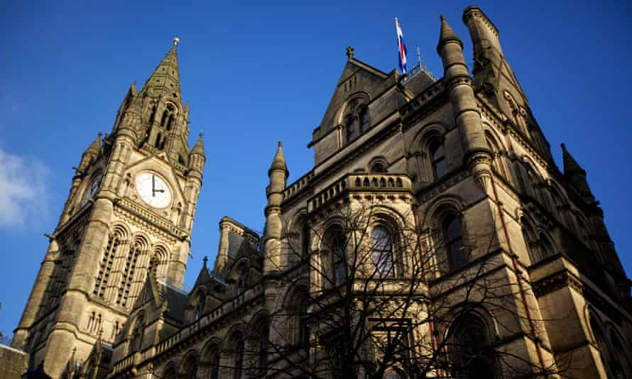 Town halls such as Manchester have been disproportionately hit by central government hits, new research from Sheffield university has found