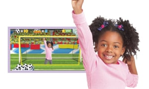 LeapFrog's LeapTV console is aimed at children.