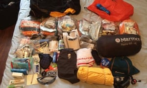 Gobi March ultramarathon kit