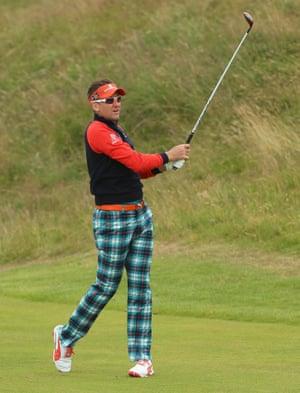Ian Poulter - Royal Aberdeen on 10 July 2014