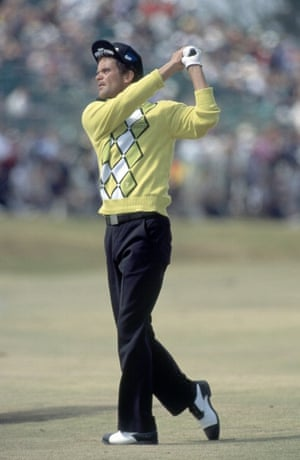 Jesper Parnevik at the British Open Golf Championship July 2000