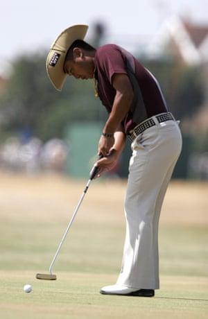 Shingo Katayama at the Open Golf Championship 21 July 2006