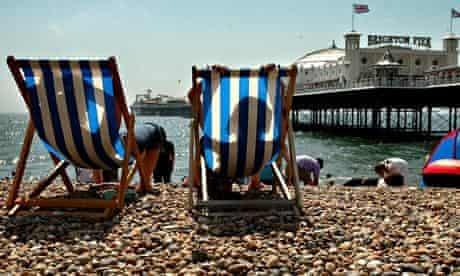 Heatwave - Brighton beach