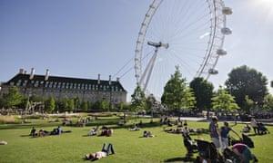 Summer heatwave turns London into tropical urban island