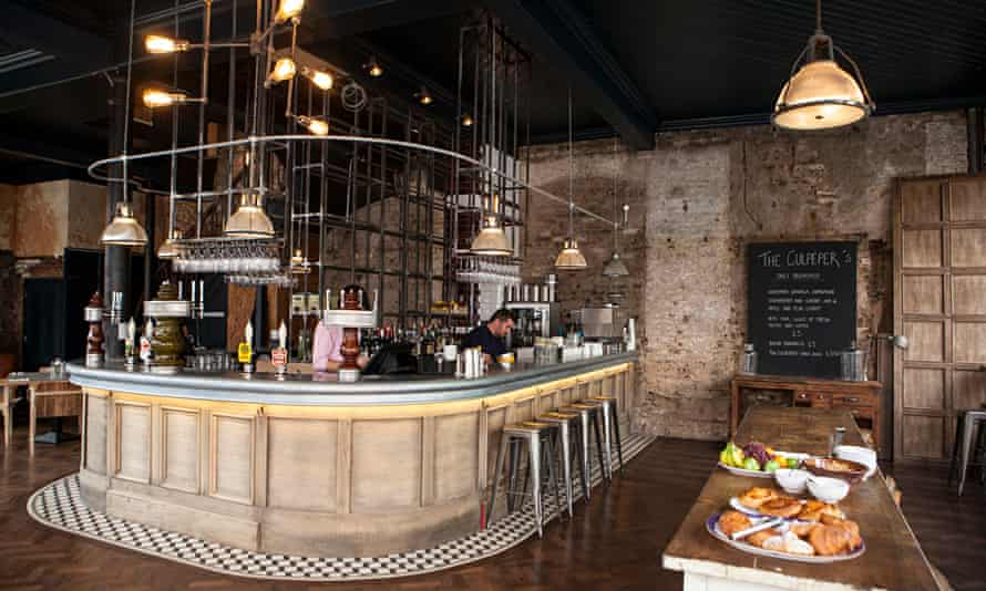culpeper restaurant interior