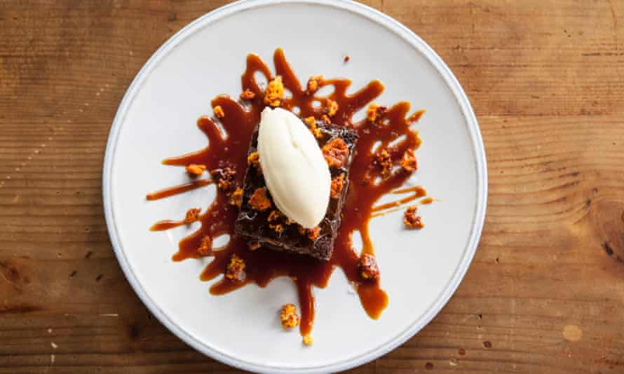 Culpeper restaurant - brownie