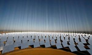 solar park in Spain