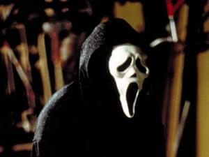 Ghostface in Scream.
