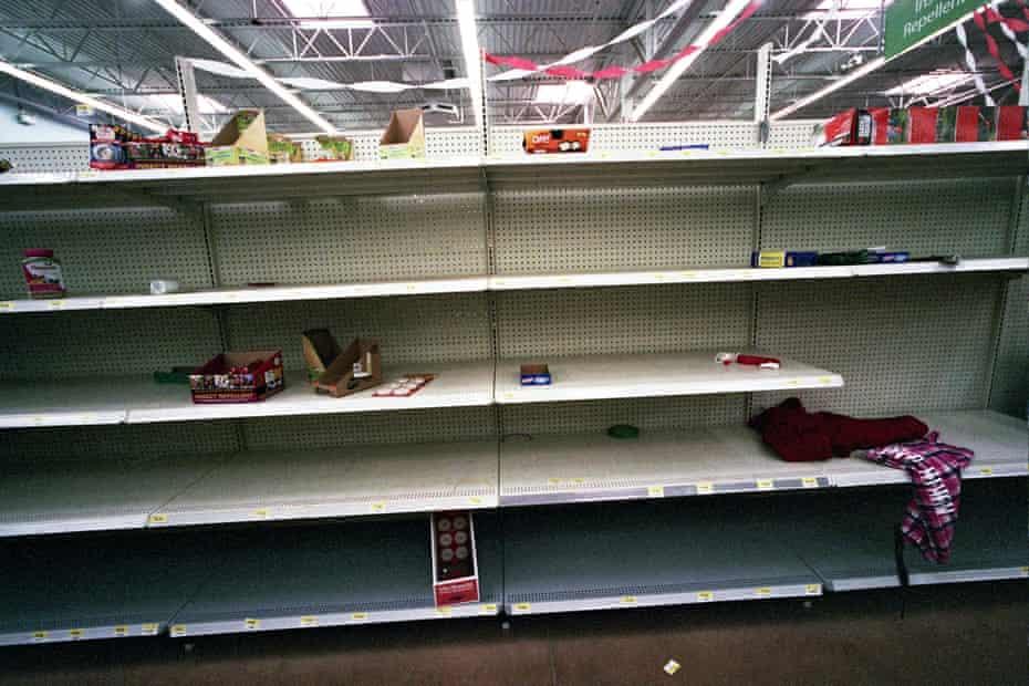 Walmart Empty Shelves williston