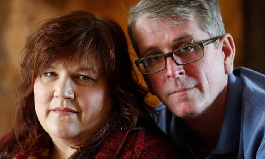 Paula and Ian McFadyen